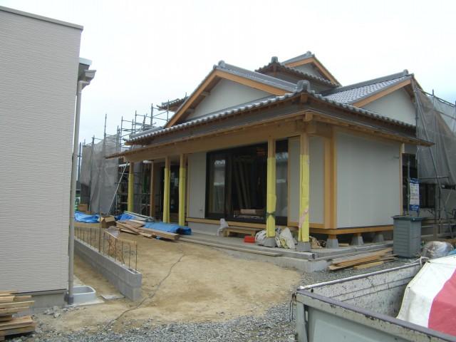 H邸の造園施工前写真