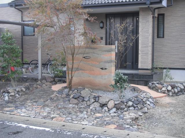 佐賀県佐賀市高木瀬町M邸の外溝工事の施工事例
