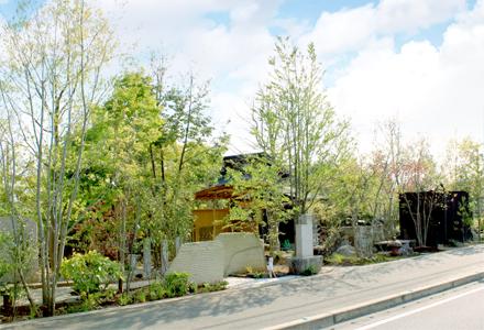 山田造園遊木館外観写真